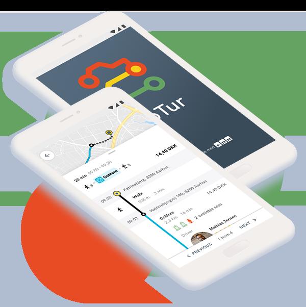 aarhus-gotur-app-phones