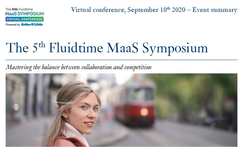 Report Fluidtime MaaS Symposium