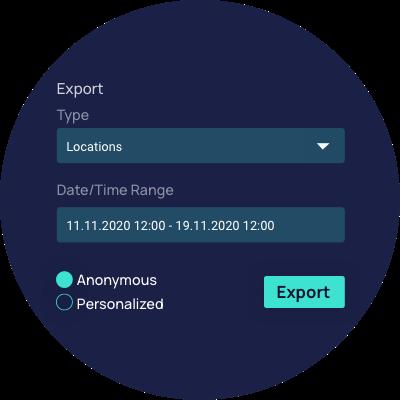 FluidAct_Analysetool Mobilität_Fluidtime_Exportfunktion
