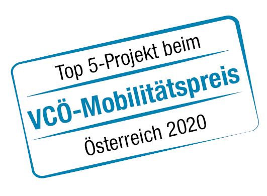 Stempel VCÖ Preis 2020 Top 5